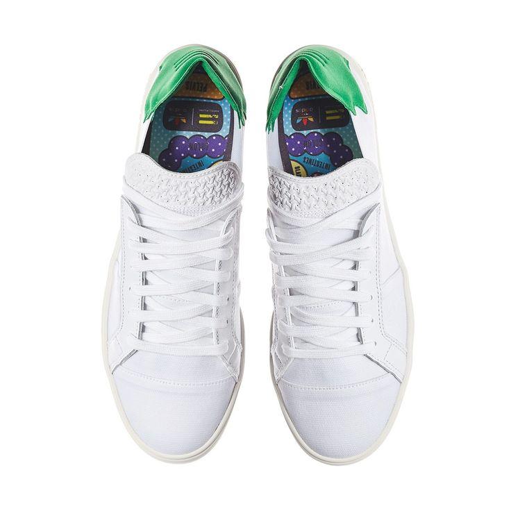 adidas Originals x Pharrell Williams Elastic Lace Up 'Pink Beach Pack'  Consortium Sneakers