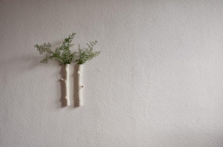 ❍ Porcelain wall twigs by Otchipotchi . February 2015
