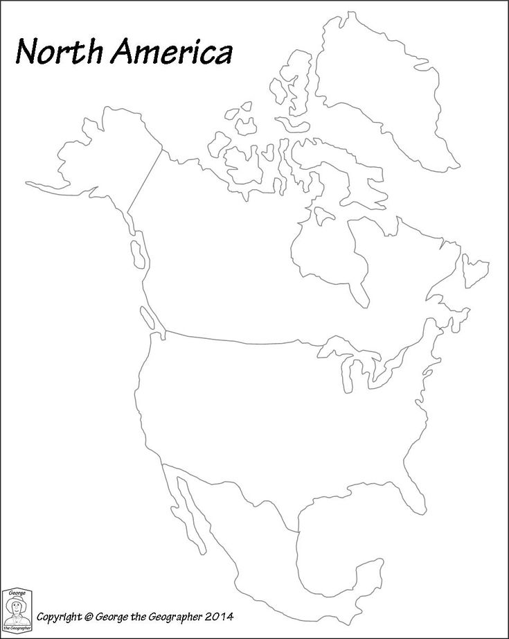 8 best geography Europe images on Pinterest Geography quiz, Map - new black and white world map with continents labeled