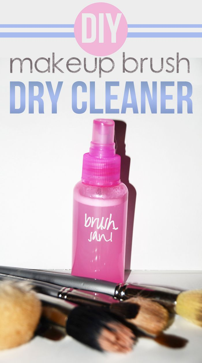 Quick everyday brush sanitizer!