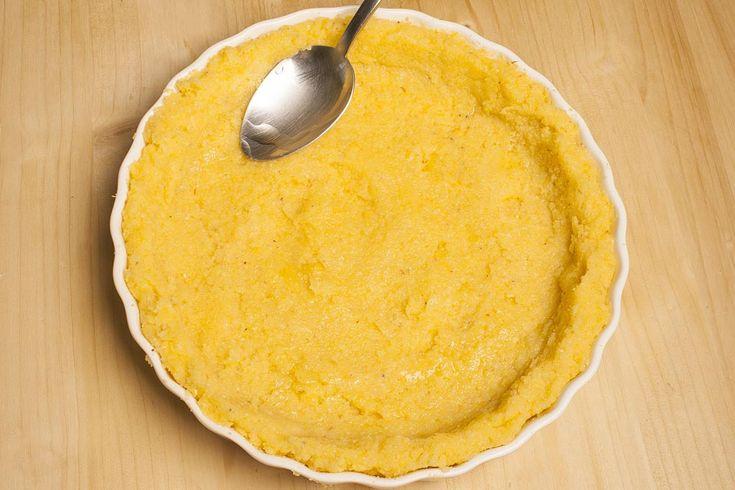 Quiche di polenta, taleggio e cipolle | Polenta Valsugana