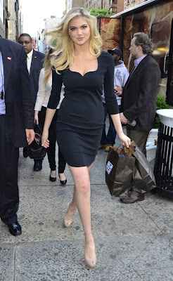 Kate Upton in New York