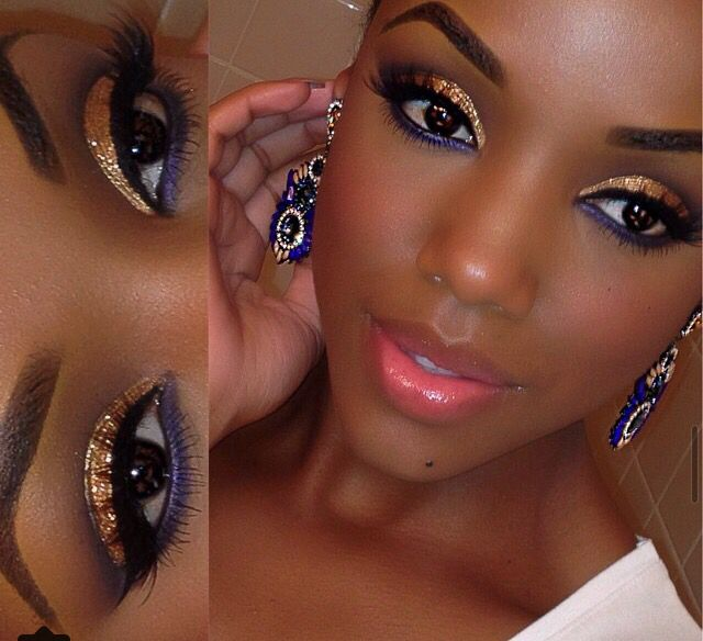 696 best images about mistys makeup for dark skin on