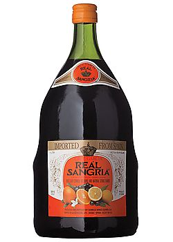 Real Sangria- My favorite brand.  Top off with fruit and serve cold in a glass pitcher.  Awesome!