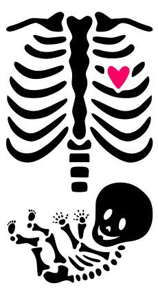 KraftyNook_MaternitySkeletonTemplate.png (230×425) Más