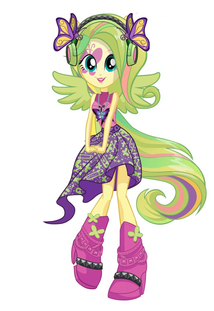 how to draw fluttershy equestria girl rainbow rocks