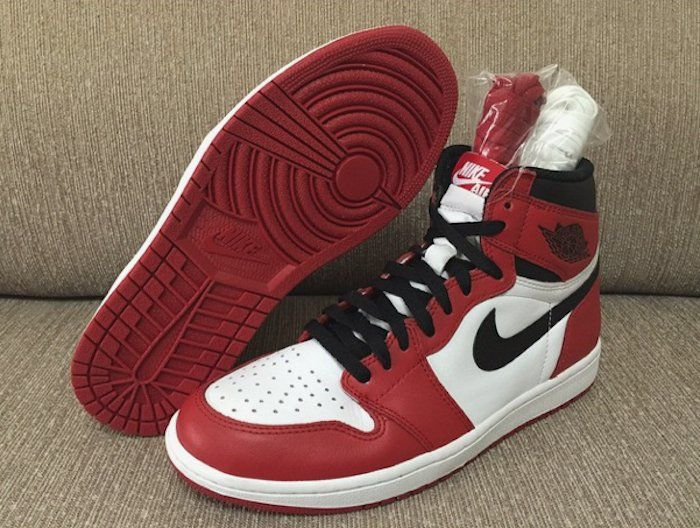 Authentic Air Jordan 1 Retro High OG Chicago