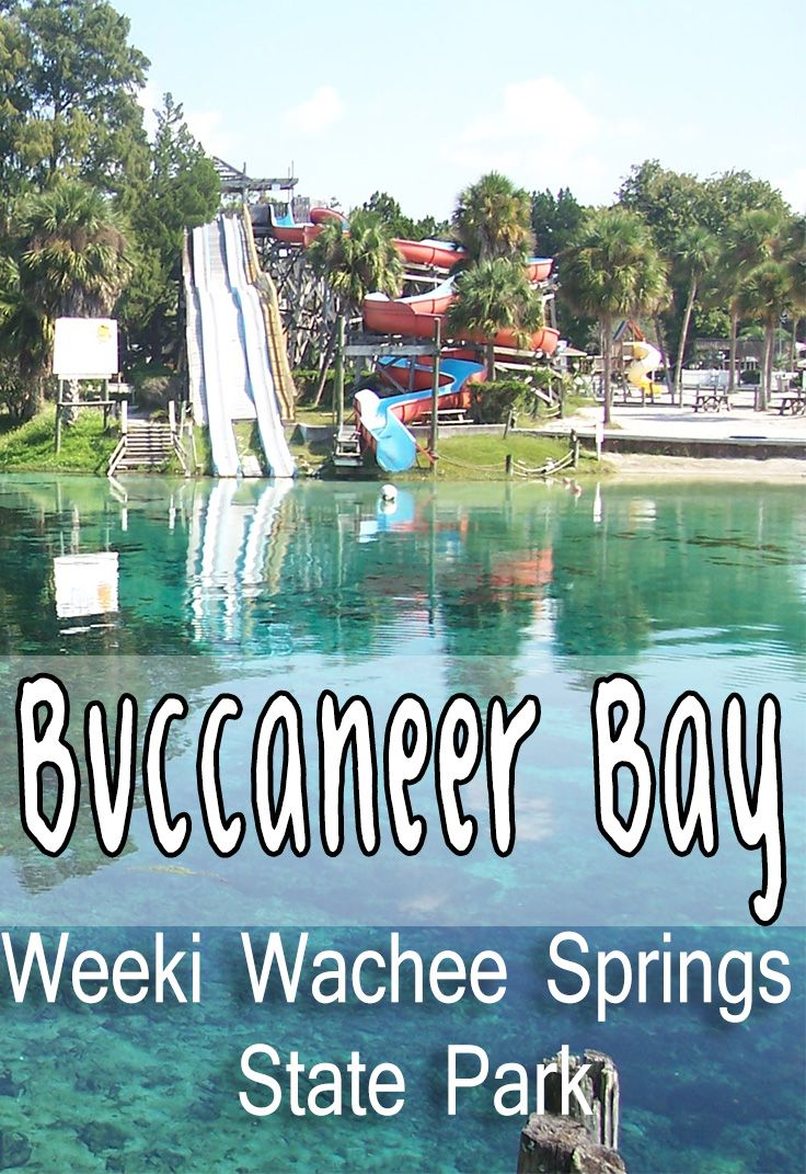 Buccaneer Bay at Weeki Wachee Springs Sate park isn't your typical fresh water spring!