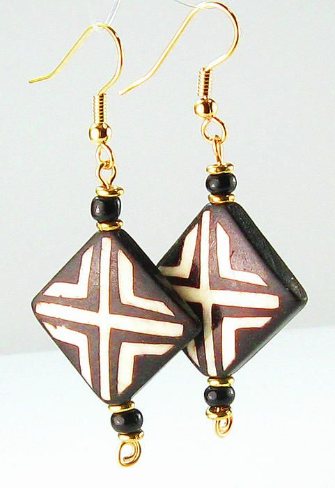 african earrings | African Tribal Earrings Jewelry by Esprit Mystique Artisan Jewelry ...