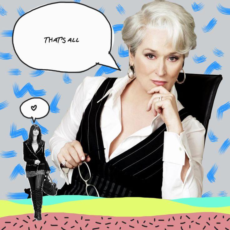 Recordamos algunas de las frases más memorables y divertidas de Miranda Priestley, interpretada por Meryl Streep, en una de nuestras películas preferidas: Devil Wears Prada.
