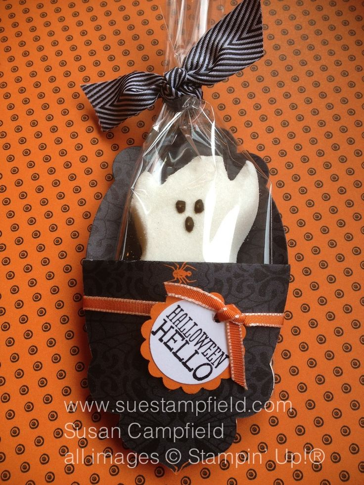 cute halloween dyi treat idea - Halloween Treat Holders