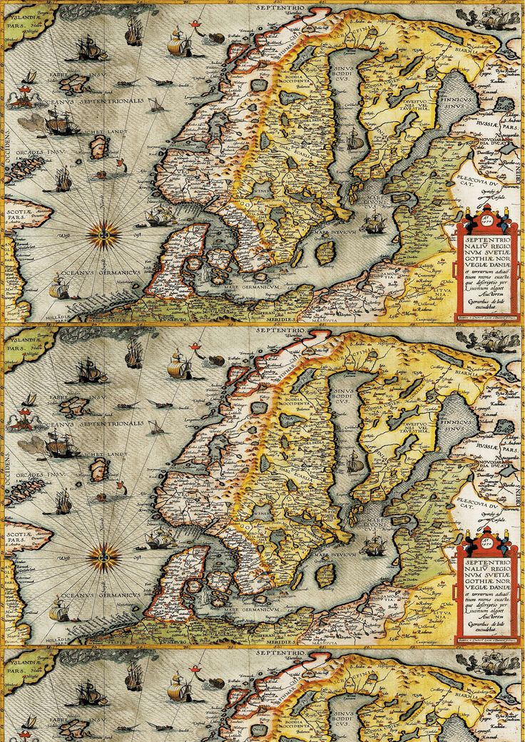 NORDIC MAP by the John Nurminen Foundation