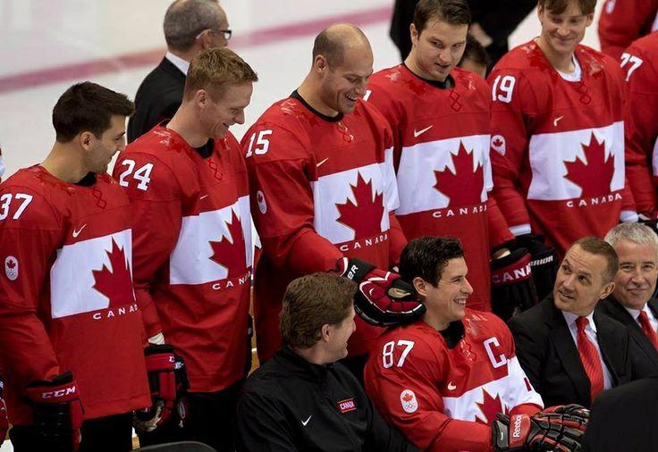 Team canada hockey team 2014