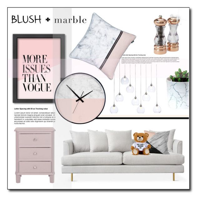 """""""Marble-ous :)"""" by tati1984 on Polyvore featuring interior, interiors, interior design, home, home decor, interior decorating, CB2, Americanflat, Olde Thompson and Moschino"""