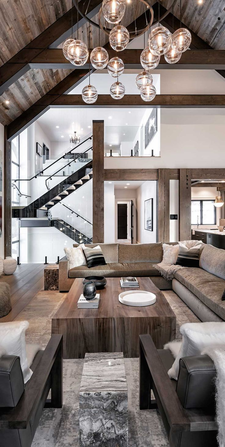 Rustic Living Rooms How To Decorate Stunning Images Design Ideas Mountain Home Interiors Modern Cabin Mountain Modern Home