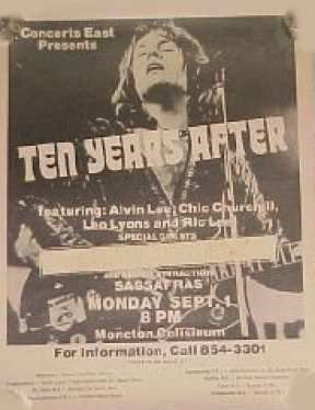 Alvin Lee - Ten Years After Gigs 1975