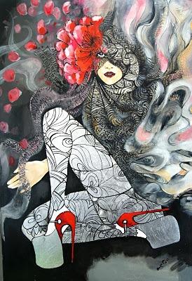 Maggie Piu..Her Fashion Illustration/Art is Amazing..  http://malgorzatabieniek.blogspot.com/