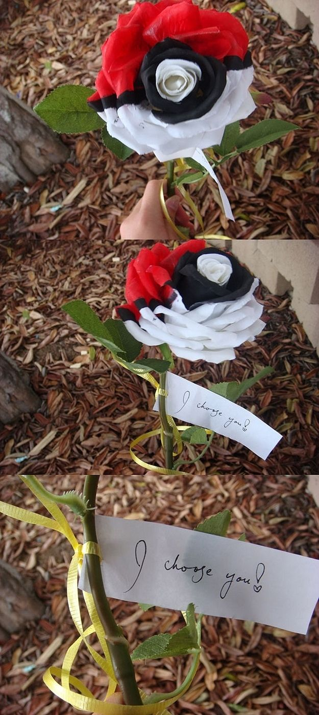 The Pokérose - If a boy gave me this, I would probably be his forever :)