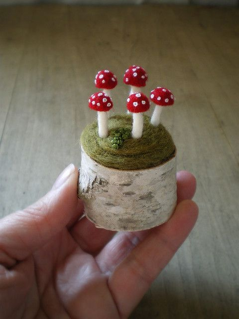 such sweet toadstools made by lilfishstudios