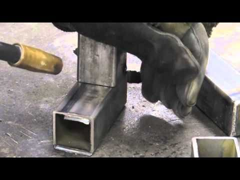 Mig Welding - Square Tubing - YouTube