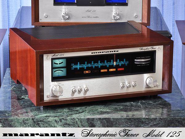 Marantz FM/AM тюнер Marantz Model 125