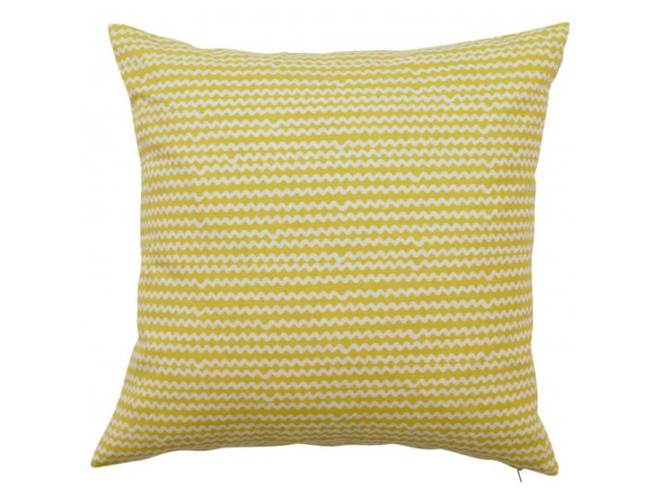 Yellow Cushion Cover- Mello Yellow- Ready to Ship- Next Day- Yellow Cushion- Yellow Pillow- Retro Cushion- Contemporary Cushion- Modern- UK by OOMFinteriors on Etsy https://www.etsy.com/listing/198825775/yellow-cushion-cover-mello-yellow-ready