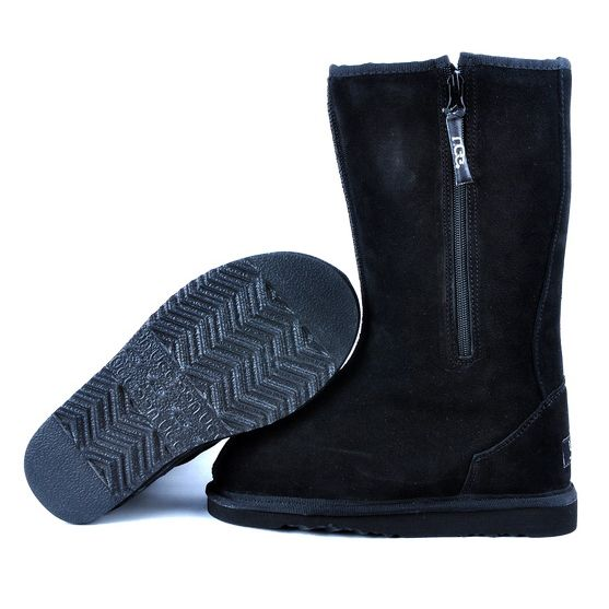 ▁▂▃ UGG Classic Tall Boots 5817 Black ,▓☪ IT'S HARD TO FIND IT~ ↔↖↔↗
