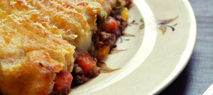 Πίτα του Βοσκού - Shepherd's pie
