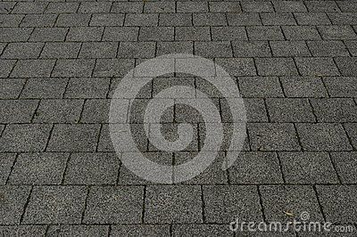 Abstract background with tiles in perspective