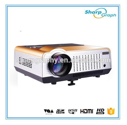 Wholesale 3000 Lumens Proyector Full HD LED Mini Computer Projector 4K LCD Multimedia 1080px Projektor LX580