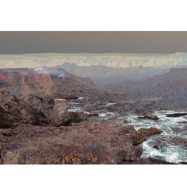 Polecam nastrojowy obraz w formacie 50x70 cm. Na obraz składają się z trzech fotografii z Namibii nałożonych na siebie. Realizacja - Anna Mizgajska