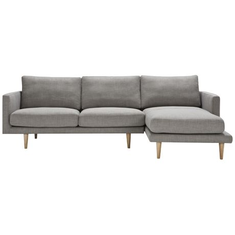 Freedom Studio Modular 2.5 Seat Left Hand & Chaise Right Hand | Freedom Furniture and Homewares