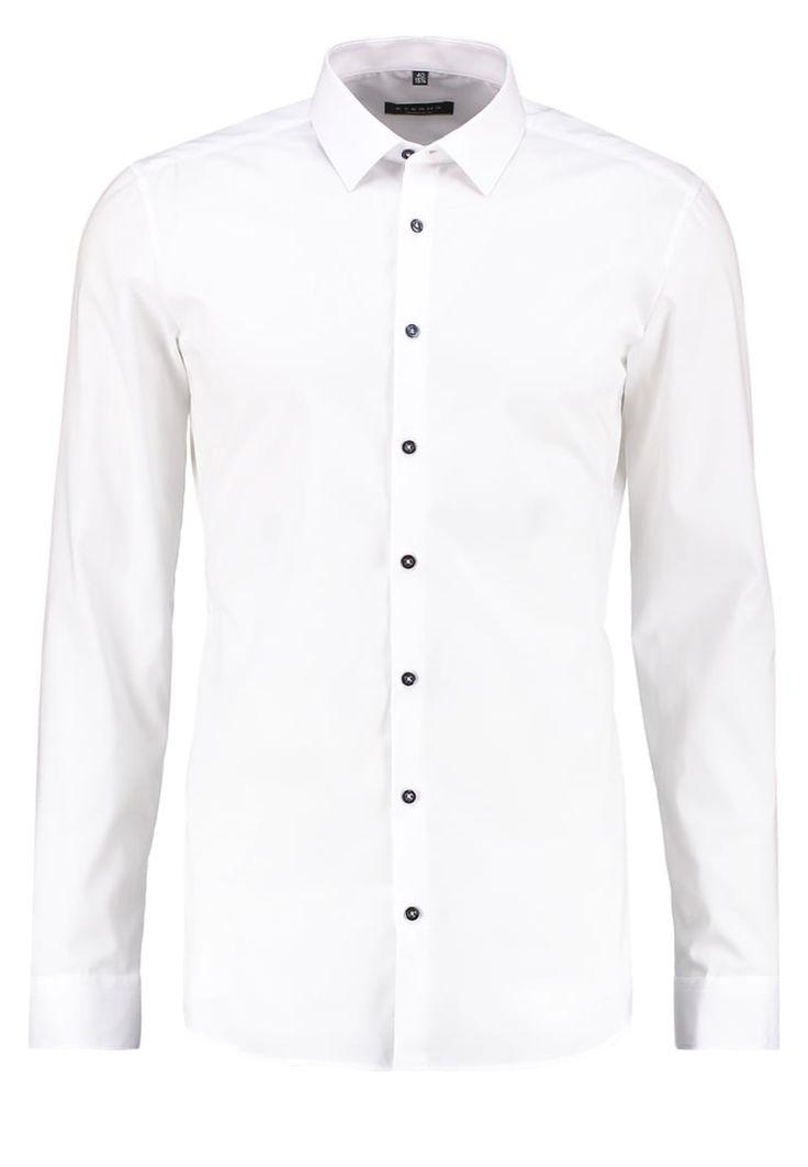 Eterna SUPER SLIM FIT Koszula biznesowa weiss
