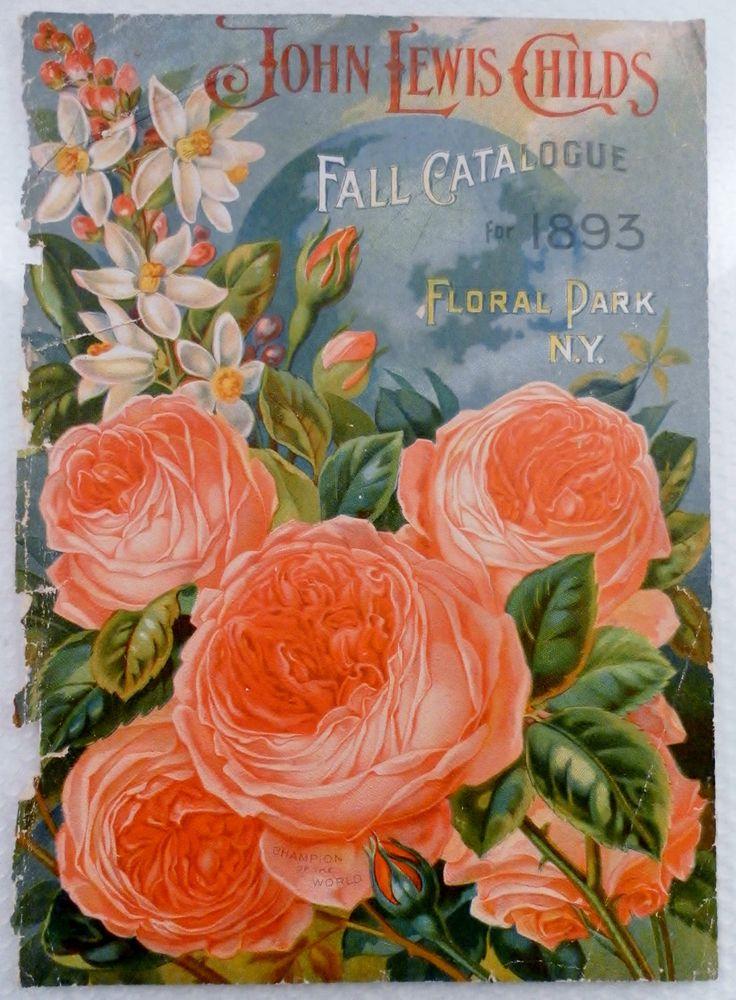 vintage seed catalog