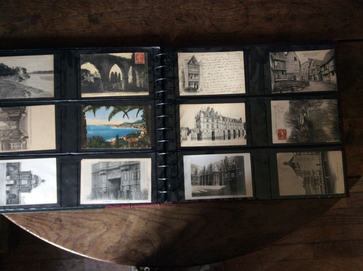 Vintage & Antique mainly French postcard album with 230 postcards instant mixed unsorted collection lot circa 1900 to 1920's Purchase in store here http://www.europeanvintageemporium.com/product/vintage-antique-mainly-french-postcard-album-with-230-postcards-instant-mixed-unsorted-collection-lot-circa-1900-to-1920s/