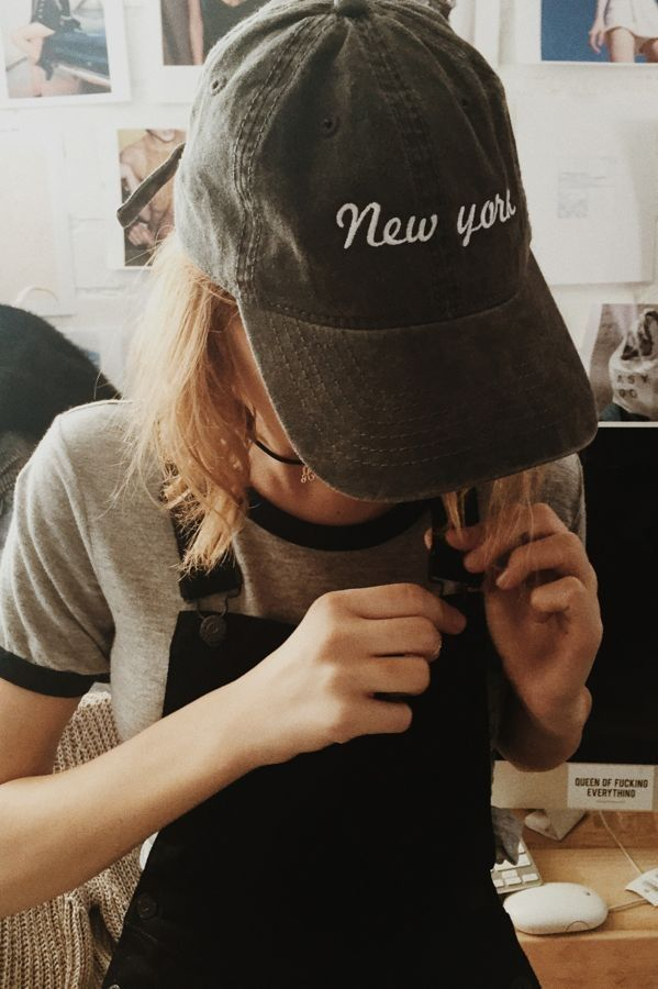 Brandy ♥ Melville | Katherine New York Cap - Beanies & Hats - Accessories