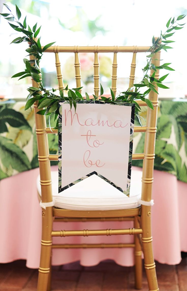 Beth's Flamingo Inspired Baby Shower | Palm Beach Lately                                                                                                                                                                                 More