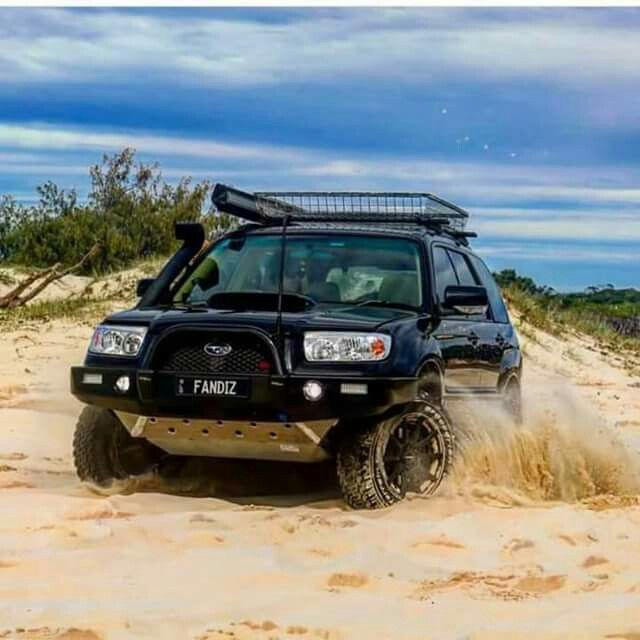 Fozzy Playing In The Sand Subaru Subaru Subaru Forester Offroad