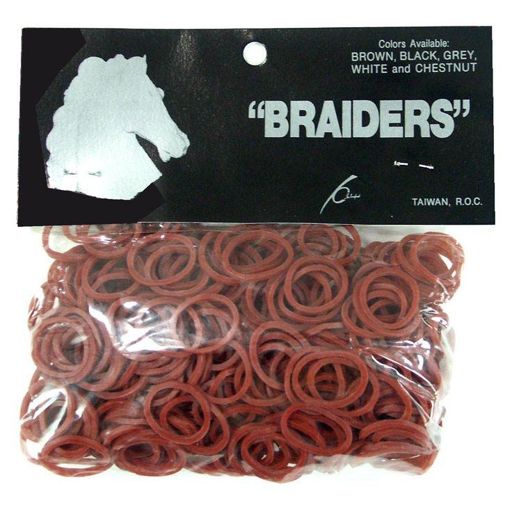 Braid Bands - Chestnut