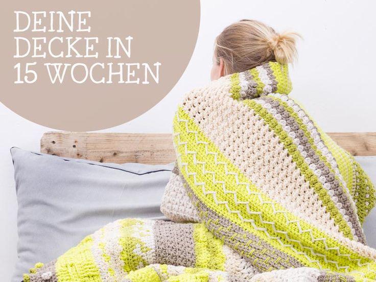 13 besten Decke häkeln Bilder auf Pinterest | Gehäkelten afghanen ...