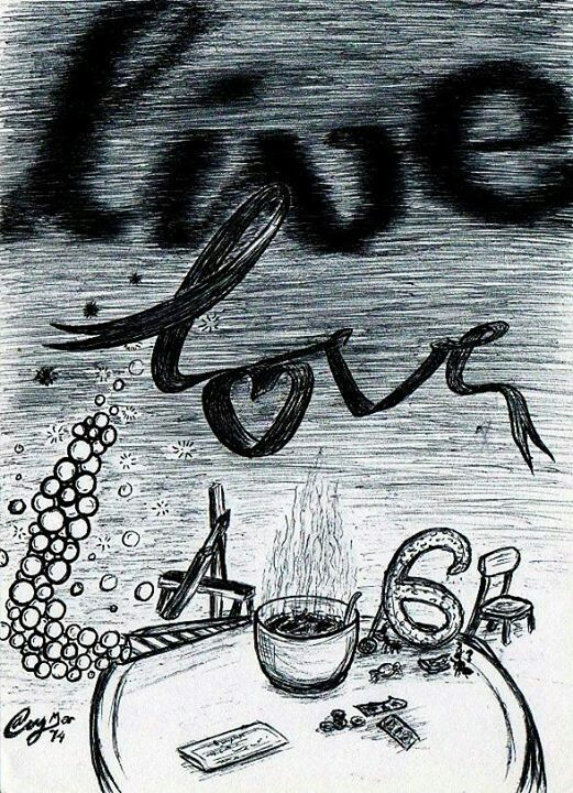 Love, live, laugh