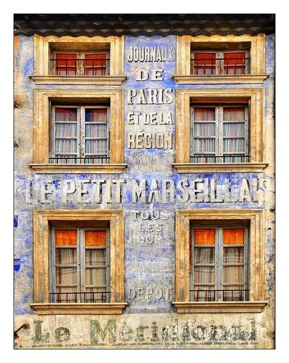 façade prise à Carpentras