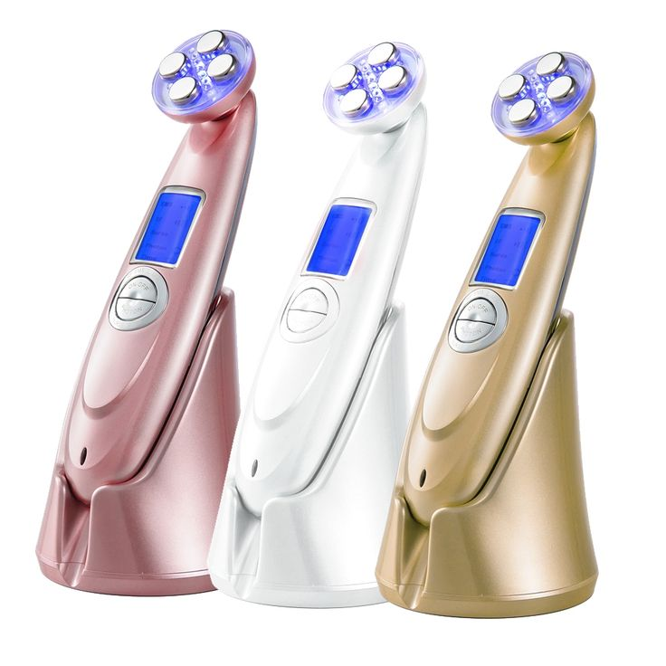 (36.16$)  Watch more here  - Rechargeable RF Ultrasonic LED Facial Massager Skin Face Care Lifting Tightening Face Care Wrinkle Remover Beauty Machine