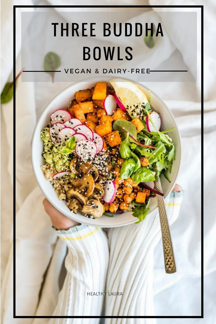 3 Instagram Buddha Bowl Zucchini Pumpkin Sweet Potato