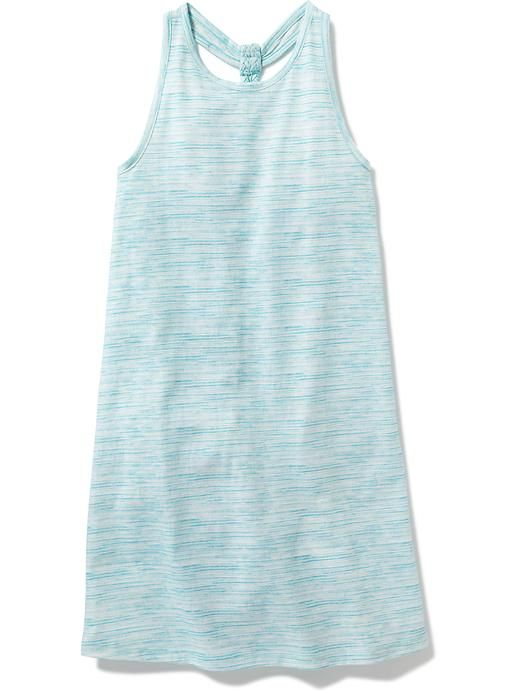 Braided Shift Tank Dress for Girls