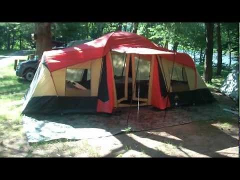 Ozark Trail 10 Person 3 Room Xl Camping Tent 20 X 11