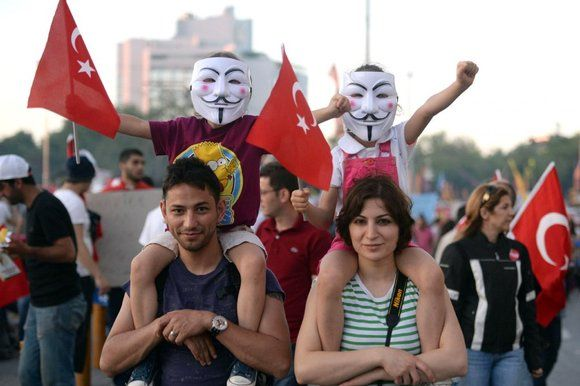we are still smiling - Gezi Park Pepper Spray | Many of those drawn to the protests have been young, secular and ...