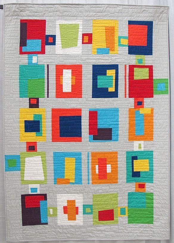 317 best Quilts - Modern Style images on Pinterest   Jellyroll ... : quilting modern - Adamdwight.com