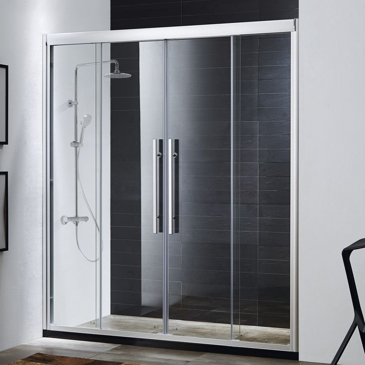 Double Sliding Glass Doors: 1000+ Ideas About Sliding Shower Doors On Pinterest