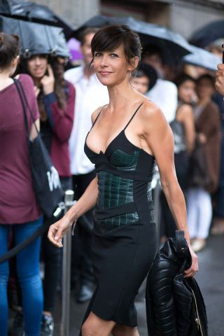 Sophie Marceau Diego Zuko captures street style in Paris during couture week.